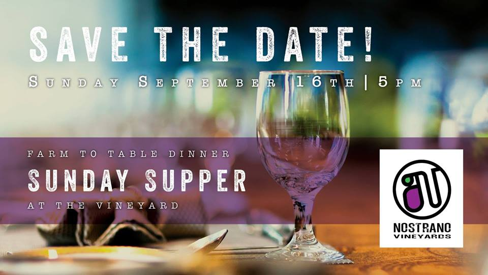 Farm To Table Dinner Sunday Supper At The Vineyard Meet Me In - Farm to table near me