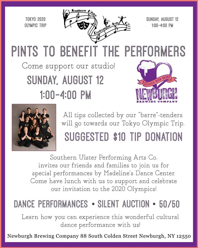 Pints to Benefit the Performers | Meet Me In Marlborough New York